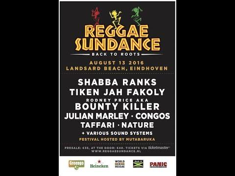 Jah Cure - Life We Live @ Reggae Sundance Eindhoven 2016
