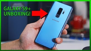 Galaxy S9 Plus Unboxing! [Exynos/Coral Blue][SM-G965F/DS]