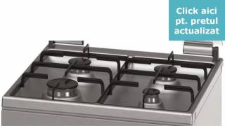 Aragaz mixt Bosch HGD745250 4 arzatoare
