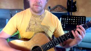 How to Play Genesis Guitar Lesson by Jorma Kaukonen with Eric Branner