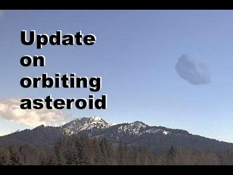 Weekly update on gigantic space rock in unstable orbit around earth. Apr 21 2018