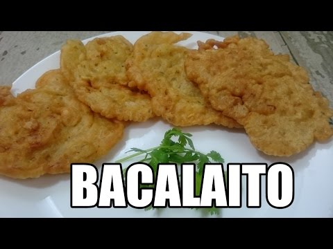 Bacalaitos/Puerto Rican Codfish Fitters Recipe | Episode 201
