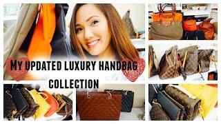 My Updated Luxury Handbag Collection!!!!