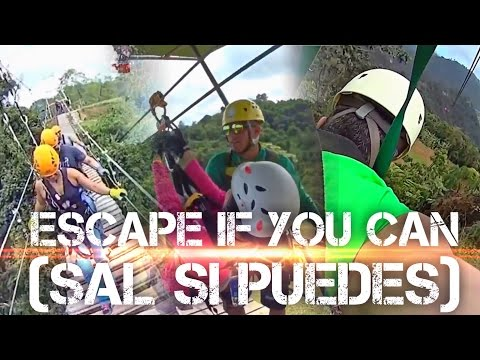 """Toro Verde Adventure Park """"Sal Si Puedes"""" (Escape if you Can!), Adrenaline Boost to the Max!"""