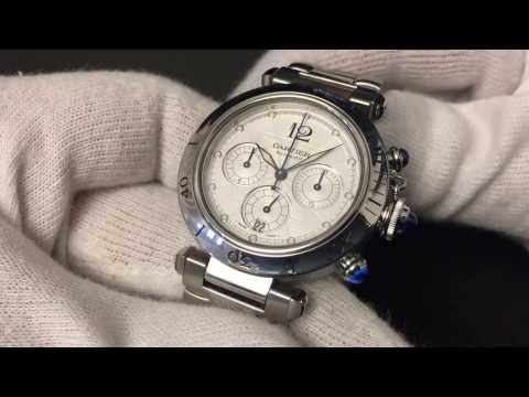 Cartier Santos 100 Chronograph and Cartier Pasha Chronograph Luxury Watch Showcase von YouTube · Dauer:  10 Minuten 21 Sekunden