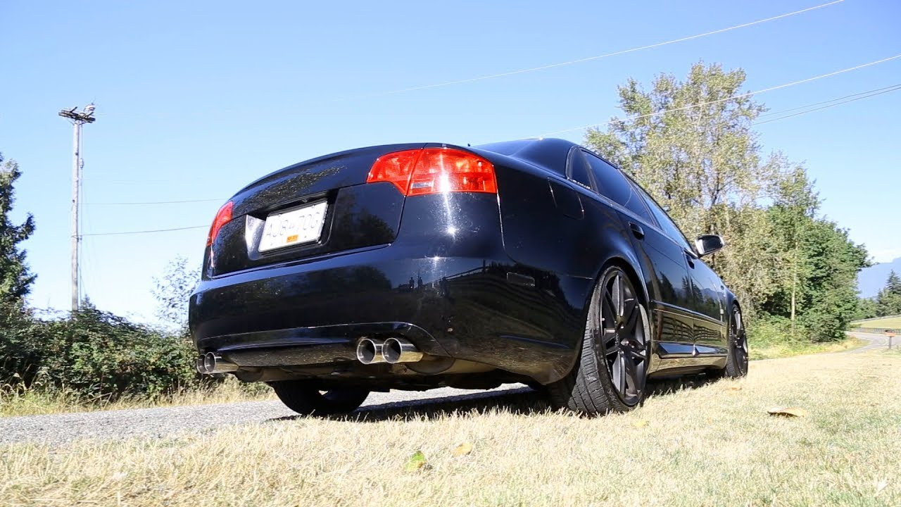 Viciously Tuned 400 Hp Audi S4 Farewell To The Iconic 4 2l V8