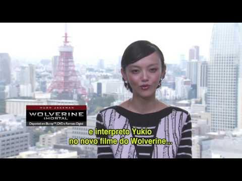 "Rila Fukushima sobre ""Wolverine: Imortal"" - Saraiva"