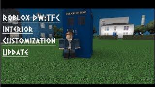 Roblox DW:TFC | Innenanpassungs-Update/Möbel-Update