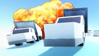 САМЫЙ СКОЛЬЗКИЙ ПАРКУР - Cluster Trucks! #1