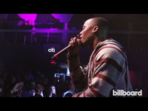 Billboard Winterfest: B.o.B Performs
