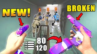 *NEW* PISTOLS IN WARZONE ARE BROKEN! - Epic & Funny Moments #398