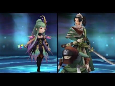 Bravely Second English - Optional Boss: Mephilia or Kamiizumi (Hard Mode)