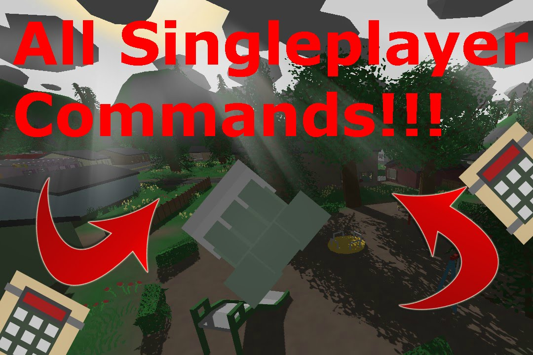 ALL Unturned SINGLEPLAYER COMMANDS!!!