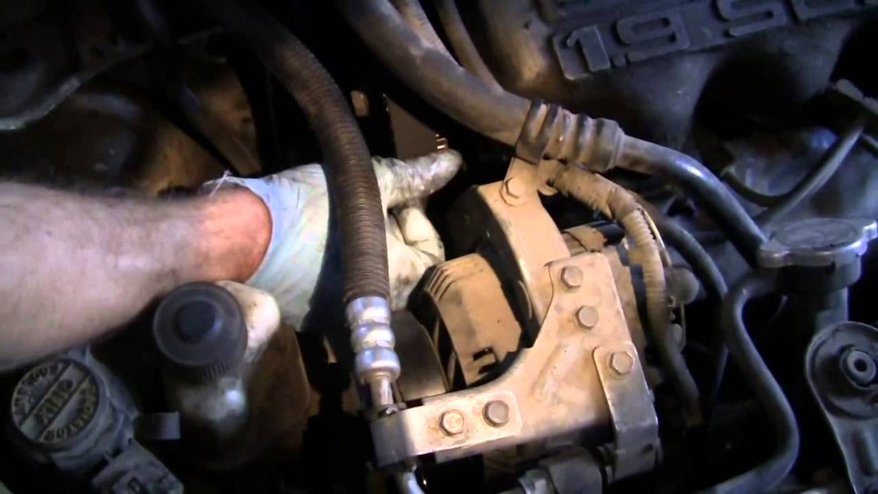 timing ford replace belt escort 1993