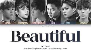 EXO-K (엑소) - Beautiful (Han|Rom|Eng) Color Coded Lyrics/한국어 가사