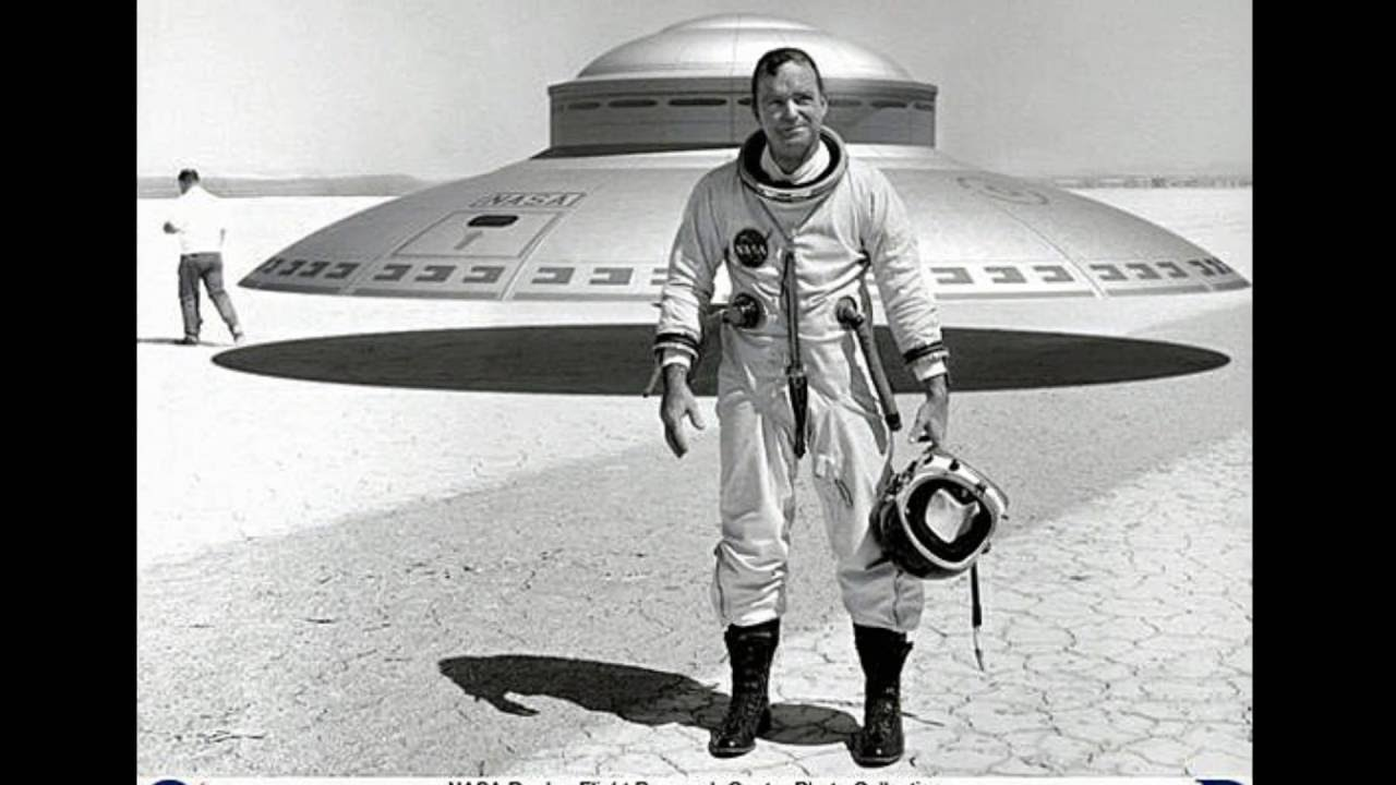 NASA LEAKED PHOTOS 1956-1966 Flying Saucer Test Pilot ...