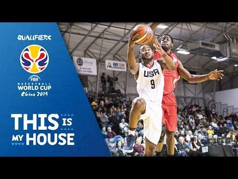 United States vs. Cuba - FIBA Basketball World Cup 2019 - American Qualifiers