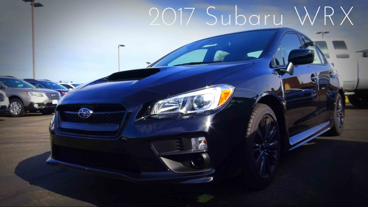 2017 Subaru Wrx 2 0 L Turbocharged 4 Cylinder Review