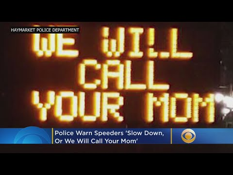 Marc 'The Cope' Coppola - Stop Speeding Or.......We'll Call Your Mom! It Seems To Work!