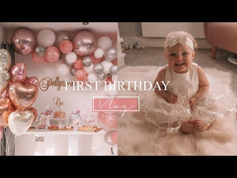 Baby's First Birthday | Balloon Arch, Cookie Number Cake, Decoration Ideas + Baby Sensory Party
