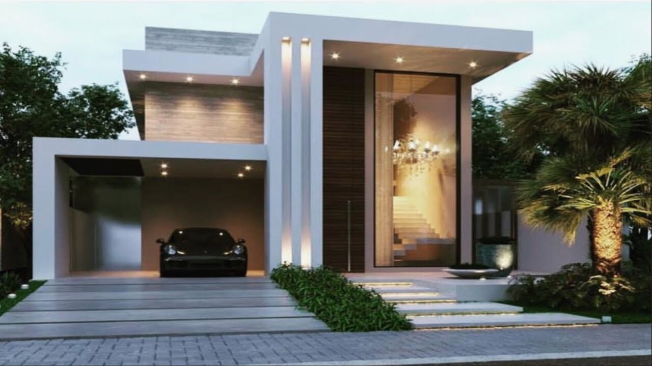50 Modern Small House Front Elevation Design 3d Views Front Elevation Style At Home Youtube