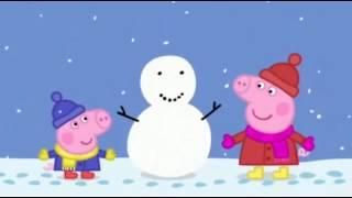 Πέππα το γουρουνάκι-Χιόνι