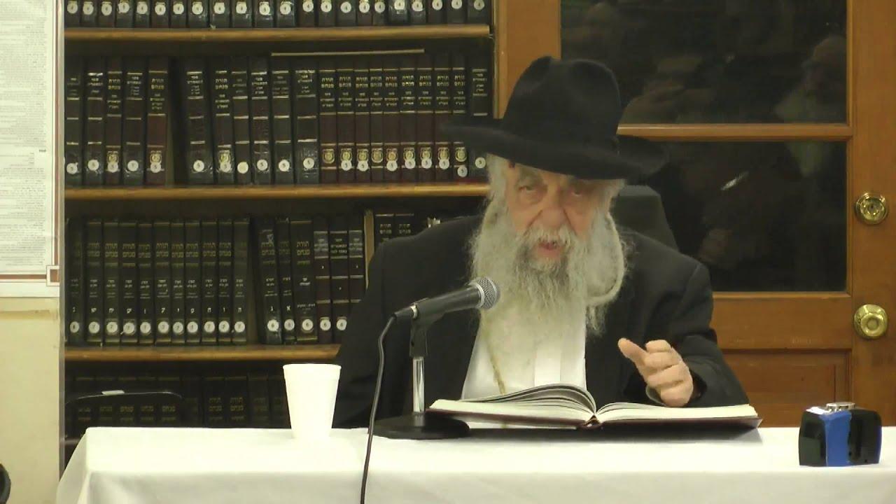 """תורה אור מגילת אסתר ד""""ה חייב איניש חלק א'  - הרב יואל כהן (אידיש) תשע""""ג"""