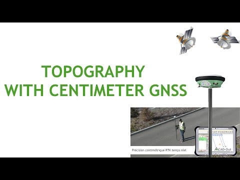 TOPOGRAPHY And SURVEYING WITH GNSS