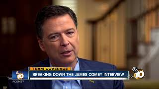 Breaking down the James Comey interview