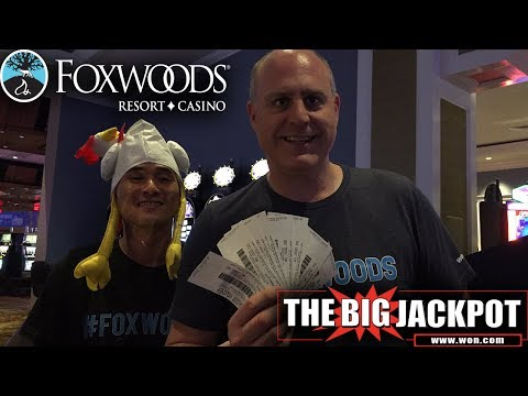 ❤️  First ever LIVE from Foxwoods Casino Giant Slot Pulls 💣