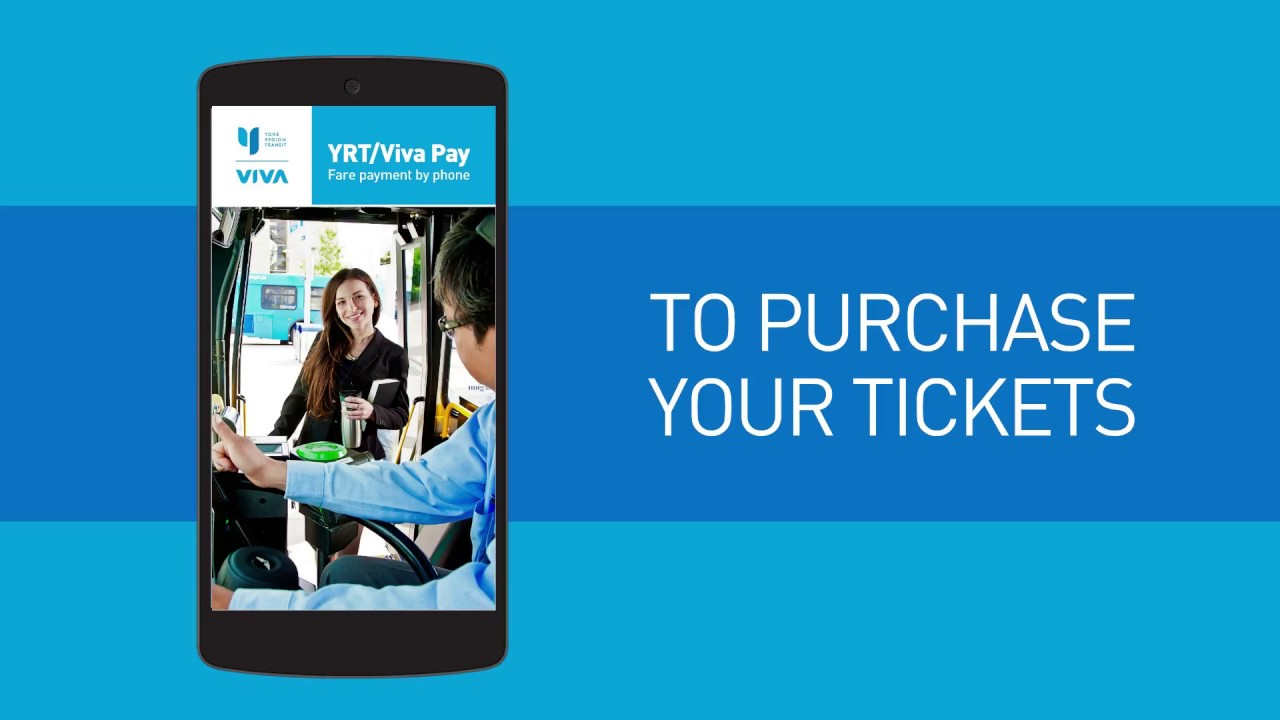 How To Use the YRT Pay Mobile Application