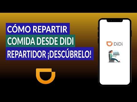 Cómo Repartir Comida Desde la App de DIDI Repartidor ¿Beneficios de DIDI Food?