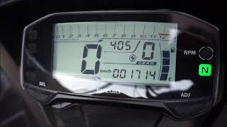 Cara Setel Jam dan Shift Light Di Speedometer Satria FUFI dan GSX R150