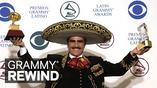 Watch Ranchero Icon Vicente Fernández Win At The 2002 Latin GRAMMYs | GRAMMY Rewind