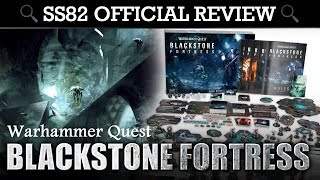 Warhammer Quest Blackstone Fortress Boxed Game SS82 OFFICIAL REVIEW