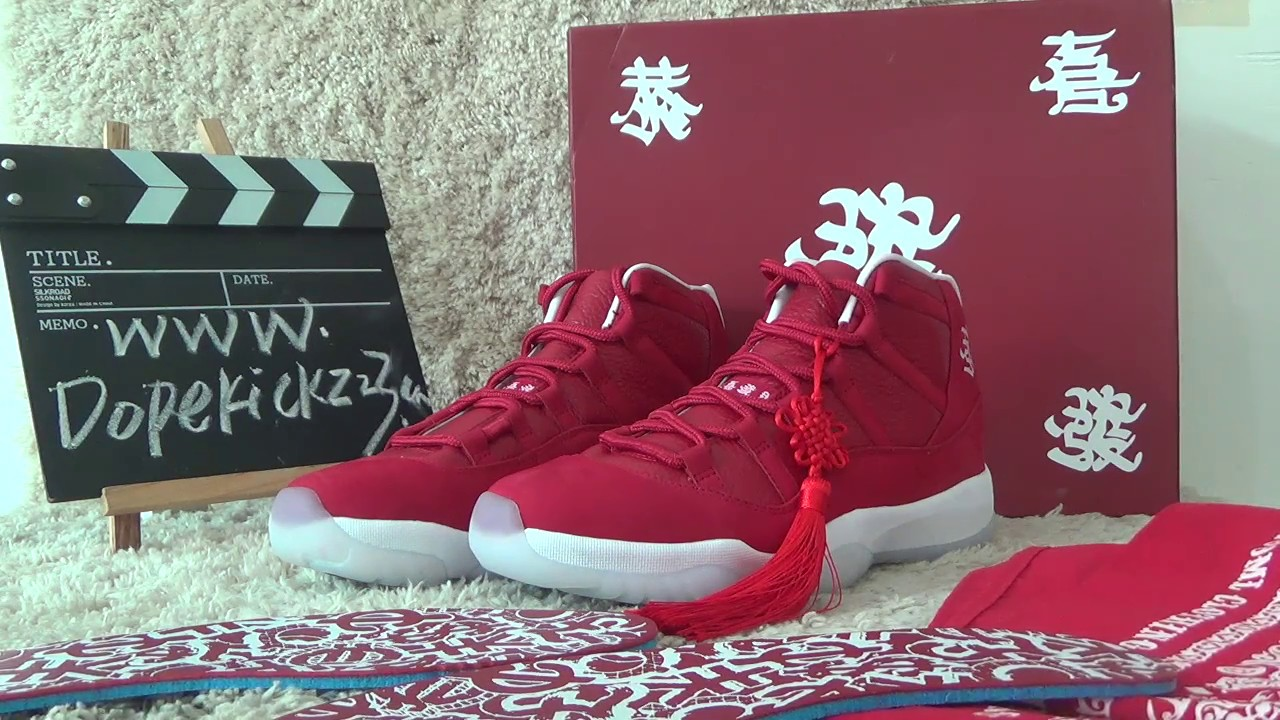 439e92f6595ad2 authentic air jordan 11 retro chinese new year custom made reviews  dopekickz23 ru
