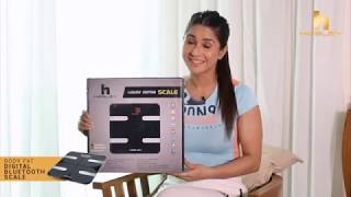 Hesley Digital Bluetooth Scale- Body Fat Analyzer Introduction and Functioning