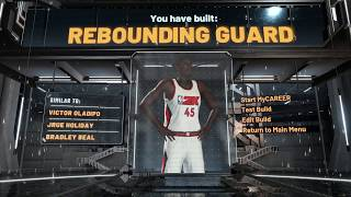 NBA 2K20 BEST LOCKDOWN BUILD! HOW TO MAKE AN OVERPOWERED LOCKDOWN IN 2K20!
