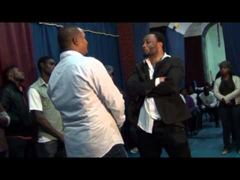 Pastor Michael Richard with CHRIST VICTORY LIFE CHURCH NAPOLY ITALY Part 2