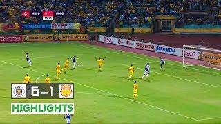 Hanoi FC vs Nam Dinh (6-1) | Vleague 2019 | Round 22 | 11-9