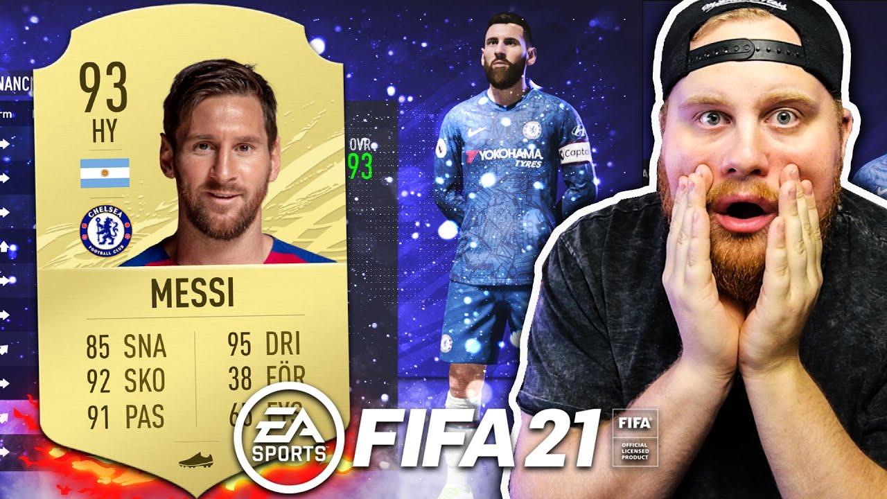 OMG SPELAR FIFA 21! *MESSI TILL CHELSEA & DRÖMLAG* - FIFA 21 SVENSKA
