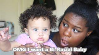 (Bi Irk Anne Mücadele)Karışık bir Bebek istiyorum