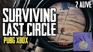 PUBG Xbox - Surviving Final Circle or Top 10 (Playerunknown's Battlegrounds)