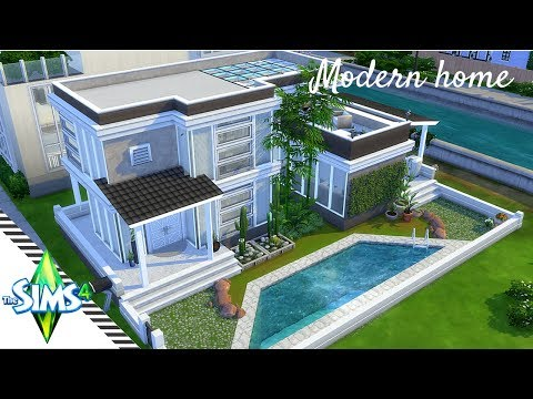 The Sims 4 | Speed Build | Modern one bedroom house plan