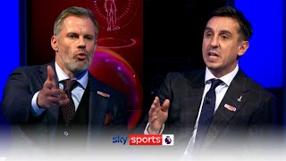 Neville & Carragher clash over the problems of VAR in the Premier League 🍿