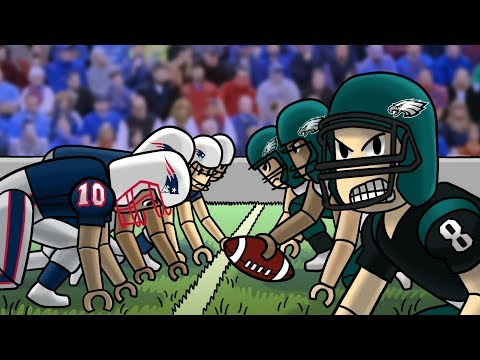 Roblox | NFL FOOTBALL: Patriots vs Eagles! (Roblox NFL Adventures)