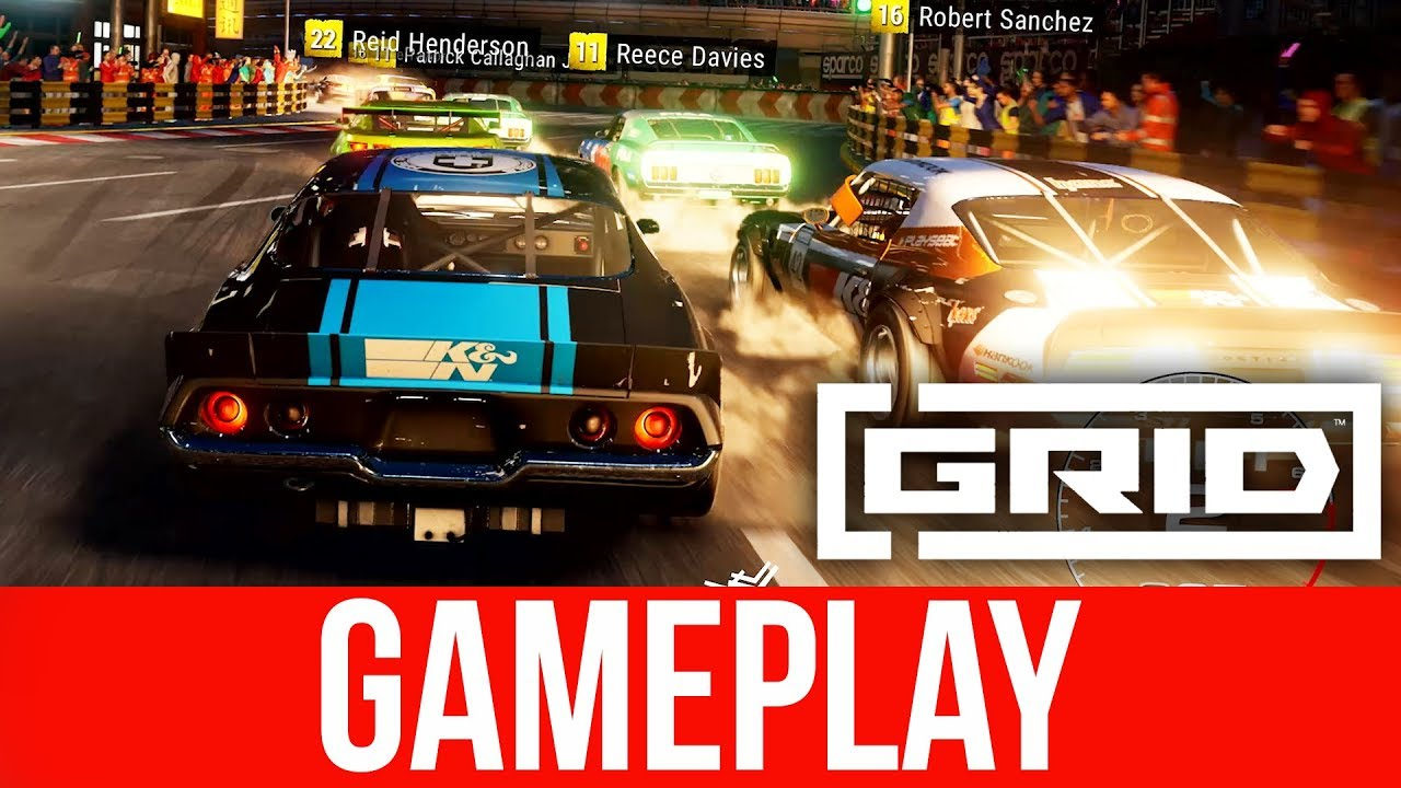 GRID 2019 NEUES Gameplay - SHANGHAI + video