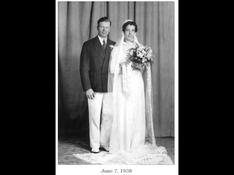 Donald and Mary Ann Wood  -  Early Years