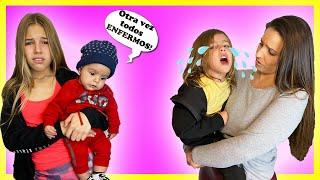 OTRA VEZ TODOS ENFERMOS EN CASA ENCERRADOS - MAMÁ SOLA CON 3 HIJOS | Familia Amiguindy