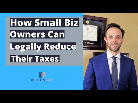 How Small Business Owners Can Legally Reduce Their Taxes Before the End of the Year